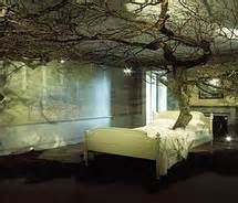 Forest bedroom