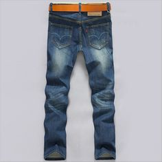 summer jeans NEW leisure casual Men's jeans men brand denim Retro Style pants,men jeans pants,long jeans fast and free shipping