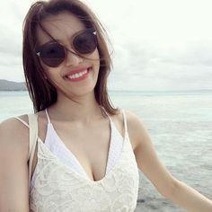 【falin_licca_queen】さんのInstagramをピンしています。 《しつこ過ぎる更新ごめんなさい🙇笑 大げさだけど、やっぱり海外にいる時が1番幸せ✨ 人見知りも、引きこもり根暗女も海外だと、全然大丈夫になる🌞笑 明日はゆっくり寝よう💤💤 #海外#幸せ#海#大好き#サイパン#Saipan#マニャガハ島#beach#selfie》