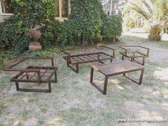muebles terraza fierro forjado Andres Gasman - Buscar con Google