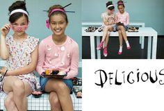 #sushi #girls #fun #fashion #style #trend #teens #spring #summer #2015 #pink #smiles #fantastic