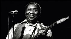 """APRIL 30, 1983 - """"Muddy Waters, who played a key role in the development of electric blues and rock-and- roll and was the greatest contemporary exponent of the influential Mississippi Delta blues style, died in his sleep early yesterday at his home near Chicago. The singer and guitarist was pronounced dead at Chicago's Good Samaritan Hospital, reportedly of a heart attack. He was 68 years old."""" Read more: http://www.nytimes.com/learning/general/onthisday/bday/0404.html"""