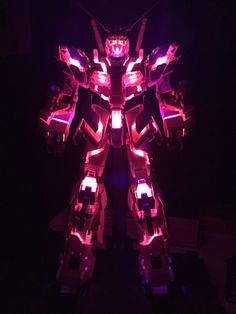 PG Unicorn Gundam with LED unit