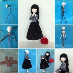 How to DIY Cute Mini Doll with Wire | www.FabArtDIY.com LIKE Us on Facebook ==> https://www.facebook.com/FabArtDIY