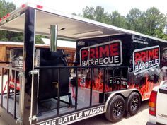 Our resident pit master - Christopher Prieto's battle wagon