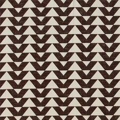 Bomull sort/sand mønster