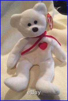 9bbca322685 Rare Ty Valentino Retired Beanie Baby Many Errors PVC Pellets