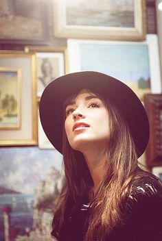Crystal Reed. Again. Just love this of her.