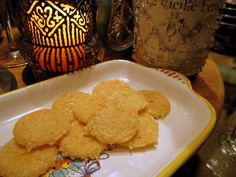 Parmesan Cheese Crisps - High Protein, Low Carb, lots of crunch with HUGE FLAVOR. Use the good cheese for great taste. Bariatric Friendly and easy to make!