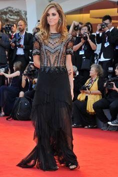 La alfombra roja de Venecia (y sus atrevimientos) Chiara Ferragni