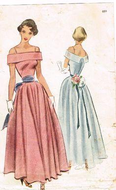 Original 1940s Beautiful Off the Shoulder by FaithfulFabrics, $75.00