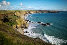 Marloes Peninsula, a hidden gem nestled on the very western edge of Pembrokeshire. Stunning seascape