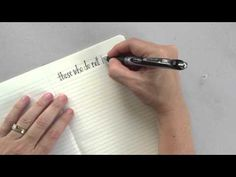 How To Improve Your Handwriting - YouTube