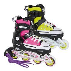 Tempish Magic Rebel Girls Adjustable Inline Skates
