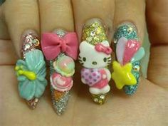 Japanese Nail Art   The Design of Nail Art Pictures