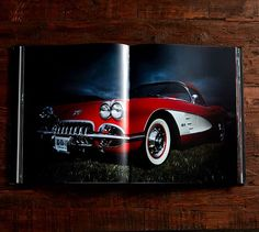 A Vintage Car Book for the car-loving guy in your life.