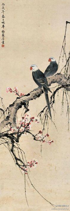 梅蘭芳 - 《春日畹華》|中国水墨画
