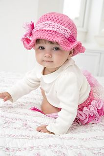 Your little girl will look so sweet in this crocheted set you'll be singing your favorite country love song! With ruffled diaper cover and her own…