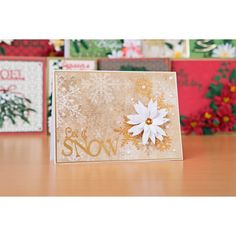 Florartistry Fabulous Folding Flowers and Stamens Large and Small Christmas Dies Collection with Papers No Colour Create And Craft, Quilling, Cardmaking, Journaling, Festive, Scrapbooking, Gift Wrapping, Colour, Paper