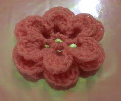 crochet flower-crochet flower pattern