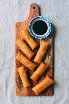 Homemade Spring Rolls are made with an old family recipe...along with a tangy, super old-school dipping sauce. Find out how to make them yourself!