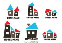 Hotel Logo Vector Pack