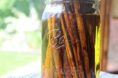 Cinnamon bark healing Oil herbal oil massage by TheFarmhouseWitch