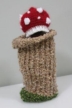 Crochet+Newborn+Mushroom+Hat+and+Cocoon++by+MagicRabbitPatterns,+$5.15