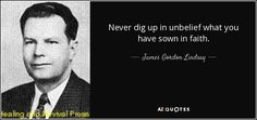 QUOTES BY JAMES GORDON LINDSAY | A-Z Quotes