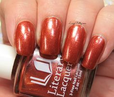 Literary Lacquers Afterglow Manicure, Nails, Swatch, Nail Polish, Nail Art, Glitter, Community, Board, Finger Nails