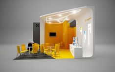 25 Innovative 3D Exhibition Designs, Display Stands & Booth Collection