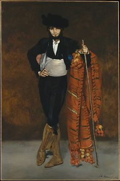 Édouard Manet (French, 1832–1883). Young Man in the Costume of a Majo, 1863. The Metropolitan Museum of Art, New York. H. O. Havemeyer Collection, Bequest of Mrs. H. O. Havemeyer, 1929 (29.100.54) #halloween #costume
