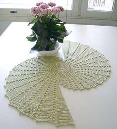 Spiral Doily Crochet