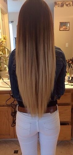 The V Cut Isn T Only Beautiful From The Back Hairstyles