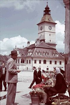 Brașov, 1941.Foto Willy Pragher