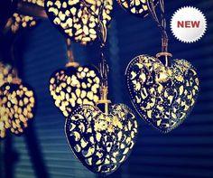 Heart Decorative LED Light Strings