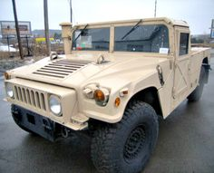 Humvee HMMWV with 40 miles on GovLiquidation. Get them while you can, very limited stock!