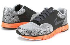 Nike Lunar Safari Fuse+ Black/Anthracite-Total Orange
