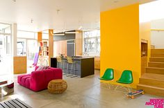 Colorful Modern Design by Bestor Architecture