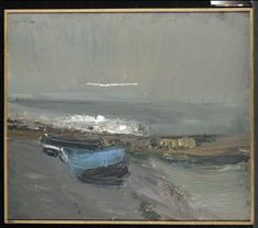 Boats and the Sea - Joan Eardley Seascape Paintings, Oil Painting Abstract, Landscape Paintings, Art Pictures, Photos, Glasgow School Of Art, Art Folder, Classic Paintings, Abstract Landscape