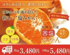 みかんの産地で有名な福岡県山川市で平均糖度度以上のみかんを販売している 茜塩みかんという名前だが塩辛い味がするみかんではなく栽培時にアンデス山脈ボリビア産岩塩を葉に散布することで独特の甘みを引き出している 昨年は福岡県内のラジオでも度紹介され大好評今年もそんな茜塩みかんを地のものファームオンラインショップで販売している  http://ift.tt/2ePToAl  #みかん #福岡