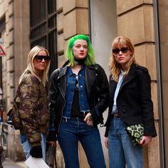 Norwegian style in Paris as seen on, from left, the bloggers Celine Aagaard and Marianne Theodorsen, and the fashion buyer Annabel Rosendahl.