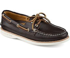 16d89c8574 Gold Cup Authentic Original 2-Eye Boat Shoe in Dark Brown Leather (Sperry  Top