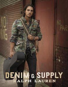 Ralph Lauren Denim & Supply F/W 13 campaign and Lookbook (Ralph Lauren)