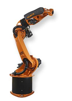 KUKA offers the right industrial robot for every task – with a range of different payload capacities, reaches and special variants. Robot Factory, Mechanical Arm, Industrial Robots, Robot Arm, Robot Design, Machine Parts, Info, Robotics, Cyberpunk