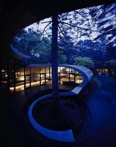 Вилла-ракушка: необычный проект дома от японских архитекторов, ARTechnic