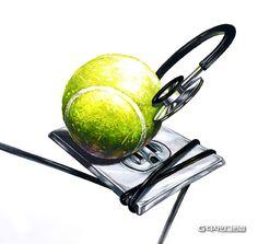 테니스공 청진기