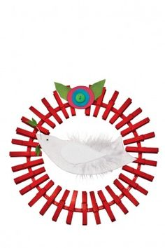 Peaceful Wreath   Christmas Crafts for Kids - Parenting.com