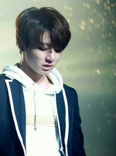 Don't cry my kookie
