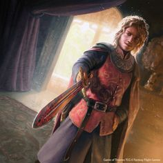 theartofbeingafan:  Joffrey Baratheon Game of Thrones TCG by 1oshuart